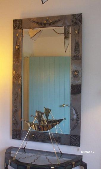 Hall Mirror, steel