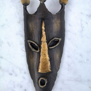 Painted steel wall mask